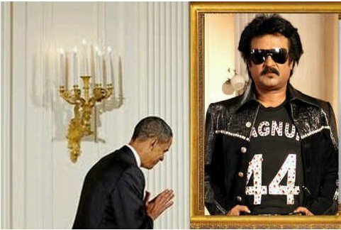 obama vs rajni jokes in hindi